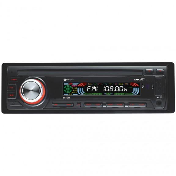 Радио MP3 плеър за кола DIVA A12