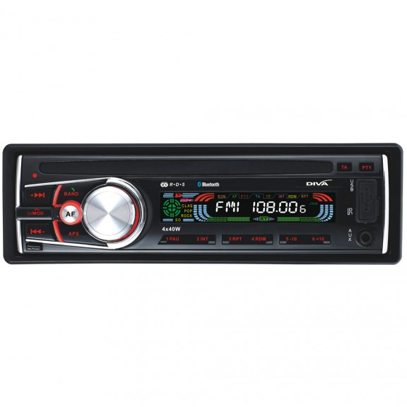 Радио MP3 плеър за кола DIVA A22BT