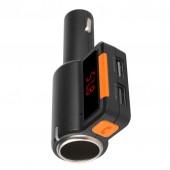 MP3 FM Трансмитер и зарядно за автомобил DIVA CL1506, Bluetooth