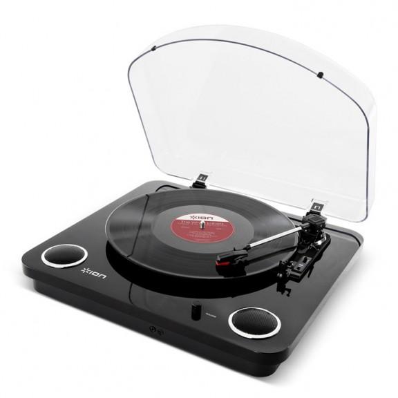 Грамофон със стерео високоговорители iON Max LP™