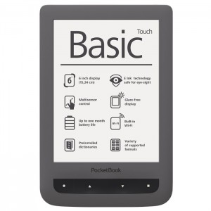 eBook четец PocketBook PB624 Basic Touch