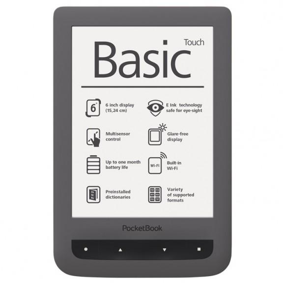 eBook четец PocketBook PB624 Basic Touch