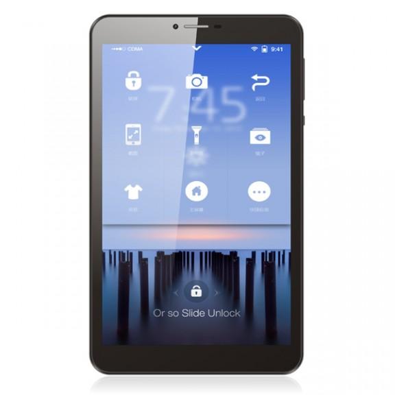 """Таблет DIVA QC-803GN, 8"""" IPS, 3G, Quad Core, 1GB/8GB"""