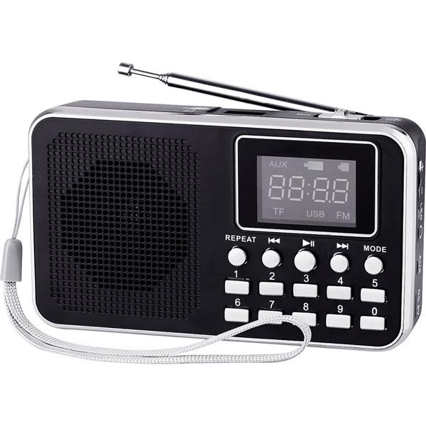 Портативно FM радио с MP3 плеър DIVA