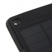 Преносима соларна външна батерия с LED фенер Diva, 8000 mAh