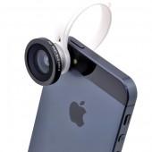 Мини обектив за смартфон Diva - Fisheye ефект