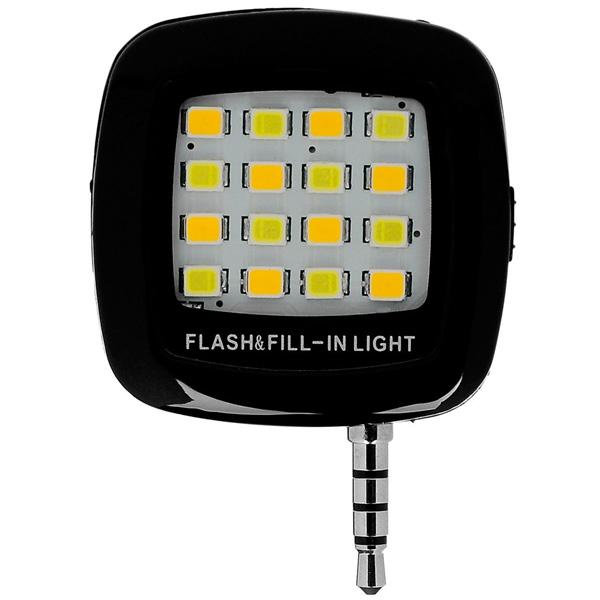 Външна LED светкавица за смартфон DIVA