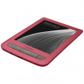 eBook четец PocketBook PB626 Touch Lux 3, Червен