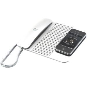 Портативна десктоп станция за провеждане на разговори и слушане на музика