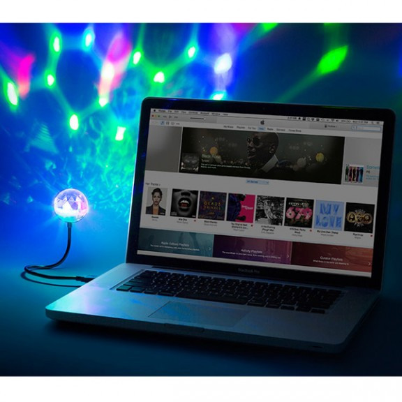 LED Диско топка iON Party Ball™ USB
