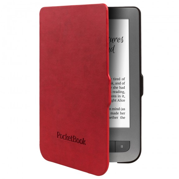 PocketBook Cover Shell, bright red/black