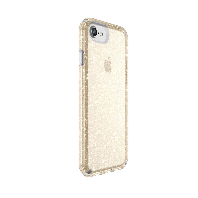 glitter clear iphone 8 case